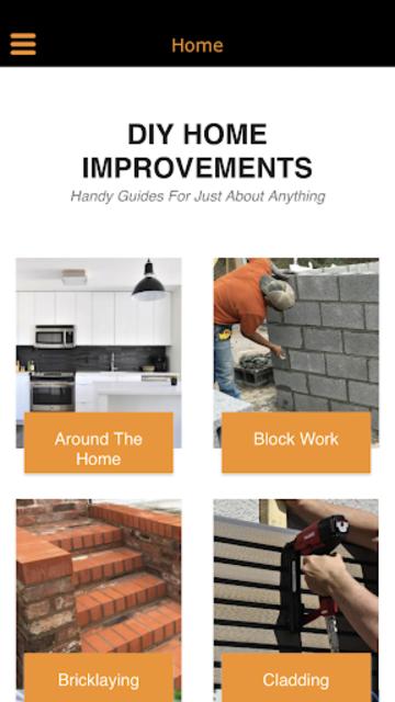 DIY Home Improvements screenshot 1