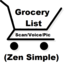 Grocery List - Zen Simple (lite)