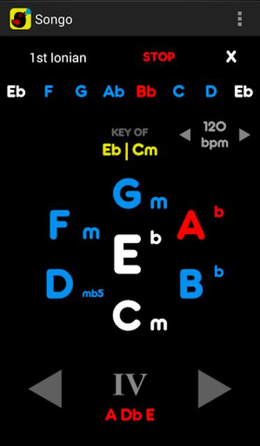 Songo Chord Finder (legacy) screenshot 3