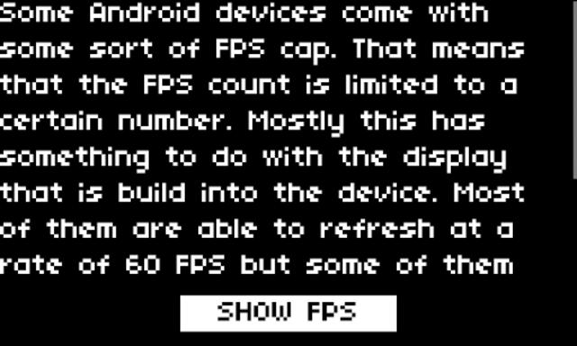 Bits FPS Cap screenshot 1