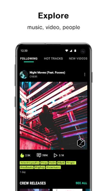 Loudly - Social Music Platform screenshot 1