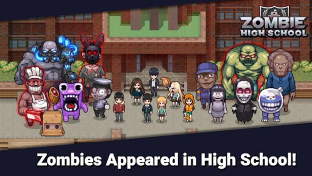 Zombie High School screenshot 1