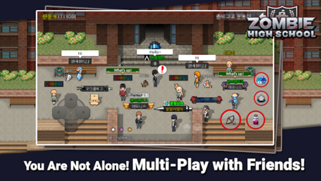 Zombie High School screenshot 4