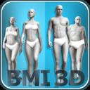 Icon for BMI 3D Pro (3D BMI Calculator)