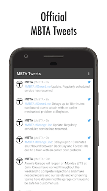 MBTA Tracker screenshot 8