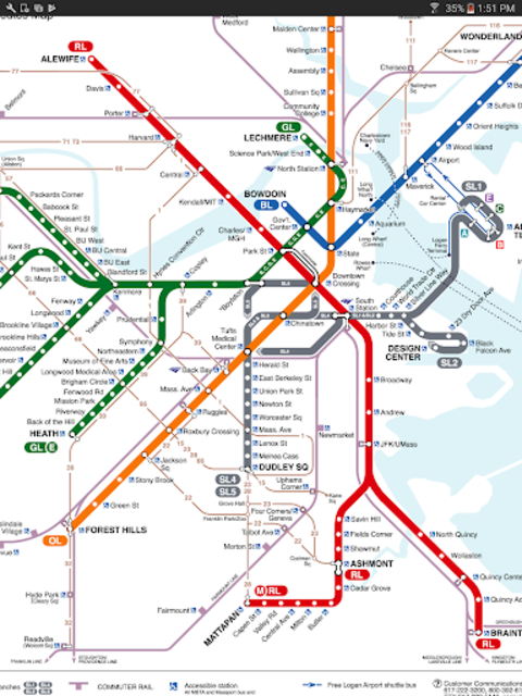 MBTA Tracker screenshot 11