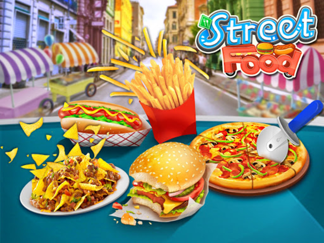 Street Food Stand Cooking Game screenshot 1