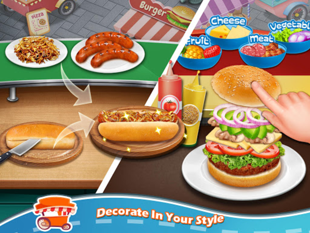 Street Food Stand Cooking Game screenshot 8