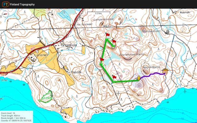 Finland Topography screenshot 5