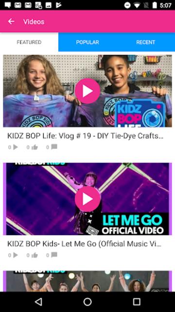 KIDZ BOP Live screenshot 2