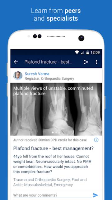MedShr: Discuss Clinical Cases screenshot 2