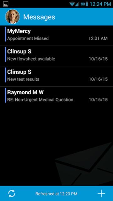 MyMercy screenshot 1