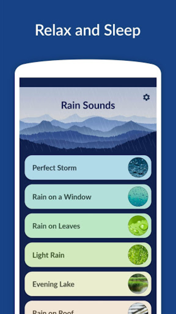 Rain Sounds - Sleep & Relax screenshot 1