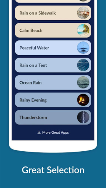 Rain Sounds - Sleep & Relax screenshot 2