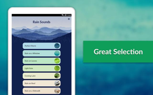 Rain Sounds - Sleep & Relax screenshot 16