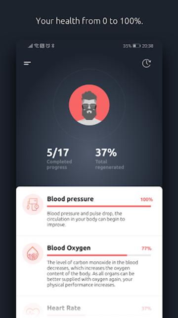 Flamy - quit smoking & become a non-smoker screenshot 2