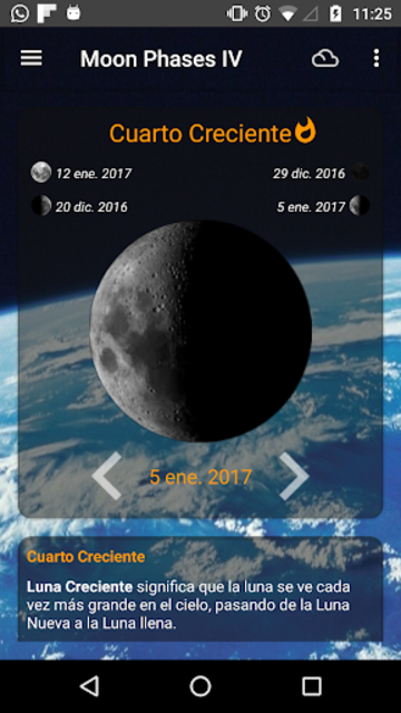 Moon Phases Pro screenshot 2