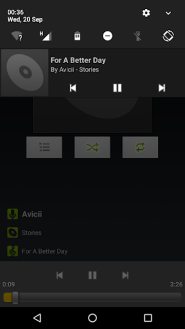 AOSP Music+ screenshot 3