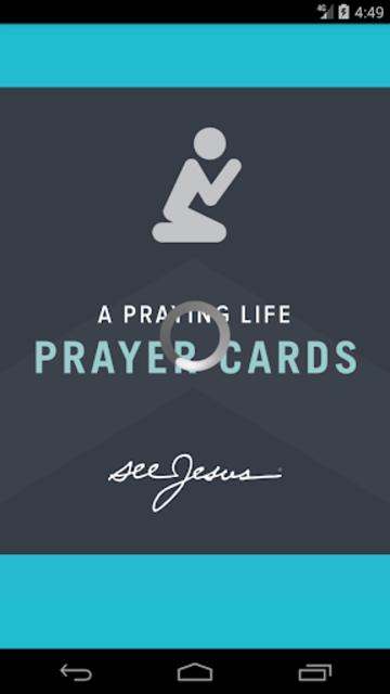 A Praying Life - Prayer Cards screenshot 1