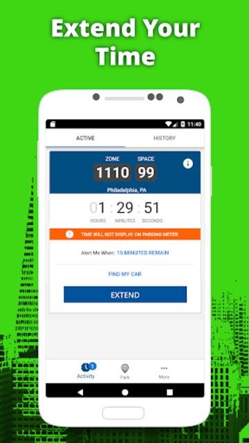 meterUP - Powered by Parkmobile screenshot 3