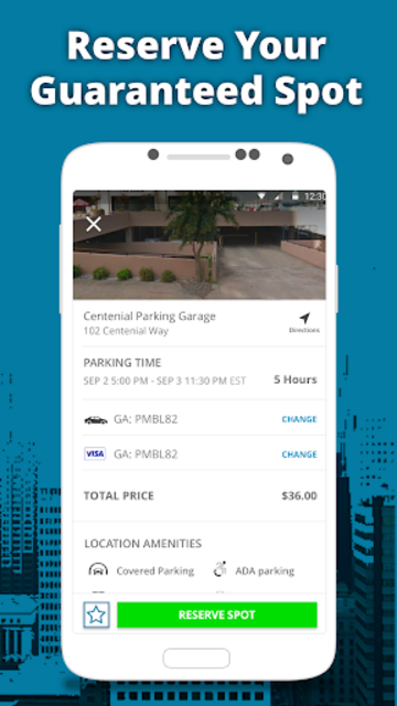 ParkMobile - Find Parking screenshot 2