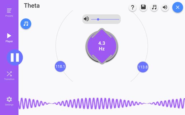 Sleep Beats: Binaural Beat Generator and Brainwave screenshot 7