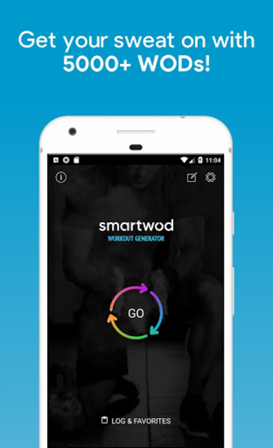SmartWOD Workout Generator screenshot 1