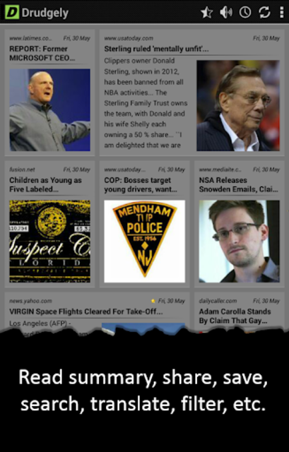Drudgely: Conservative News screenshot 8