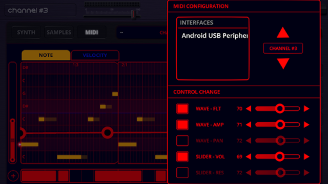 Oscilab Pro - Groovebox & MIDI screenshot 7