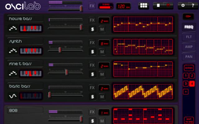 Oscilab Pro - Groovebox & MIDI screenshot 8