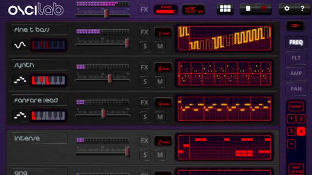 Oscilab Pro - Groovebox & MIDI screenshot 1
