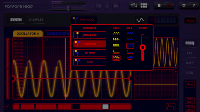 Oscilab Pro - Groovebox & MIDI screenshot 3