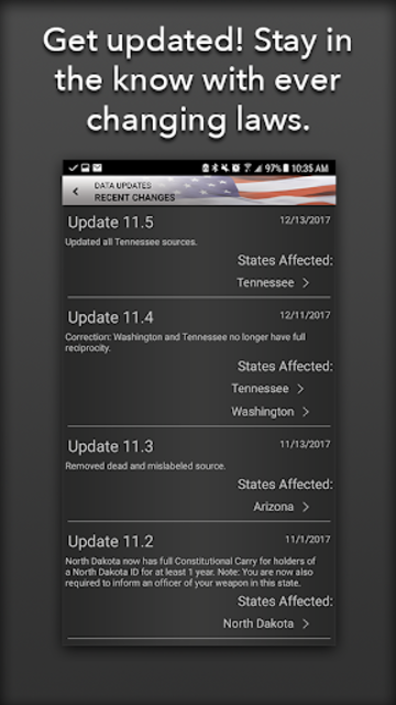 Concealed Carry App - CCW Laws screenshot 3