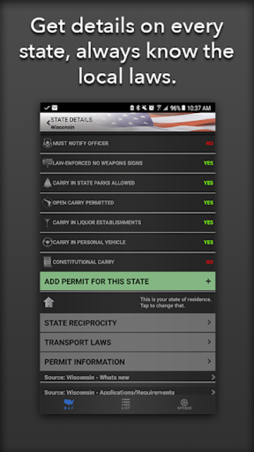 Concealed Carry App - CCW Laws screenshot 5