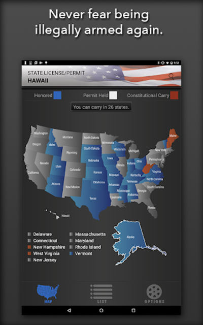 Concealed Carry App - CCW Laws screenshot 7