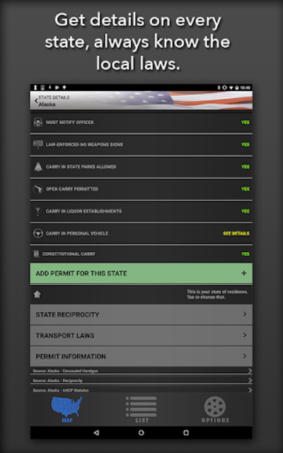 Concealed Carry App - CCW Laws screenshot 8