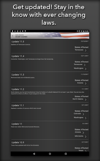 Concealed Carry App - CCW Laws screenshot 10
