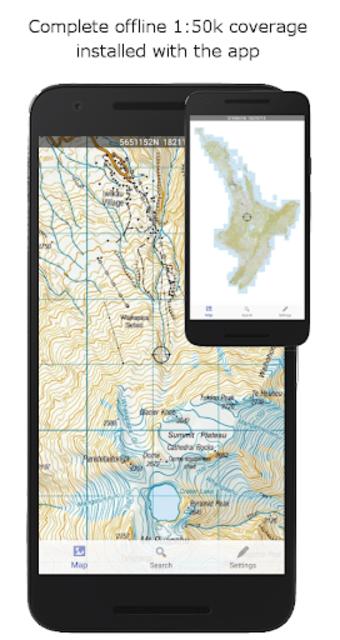 NZ Topo50 Offline Sth Island Map and Hunting Areas screenshot 1