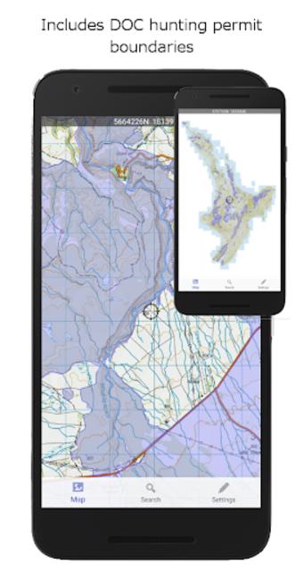 NZ Topo50 Offline Sth Island Map and Hunting Areas screenshot 3
