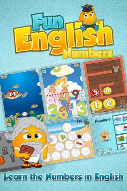Fun English Numbers Games screenshot 1