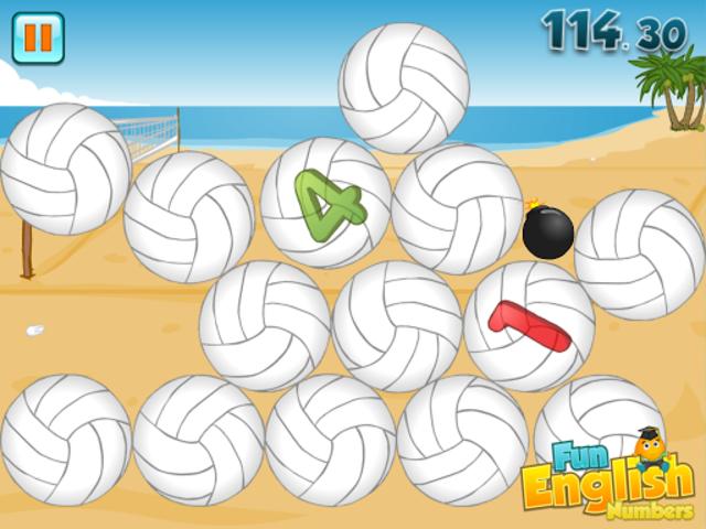 Fun English Numbers Games screenshot 2