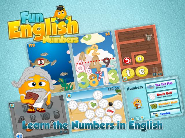 Fun English Numbers Games screenshot 6