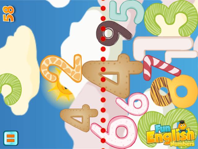 Fun English Numbers Games screenshot 8