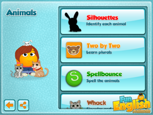 Fun English Animals screenshot 2