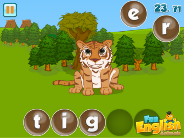 Fun English Animals screenshot 11