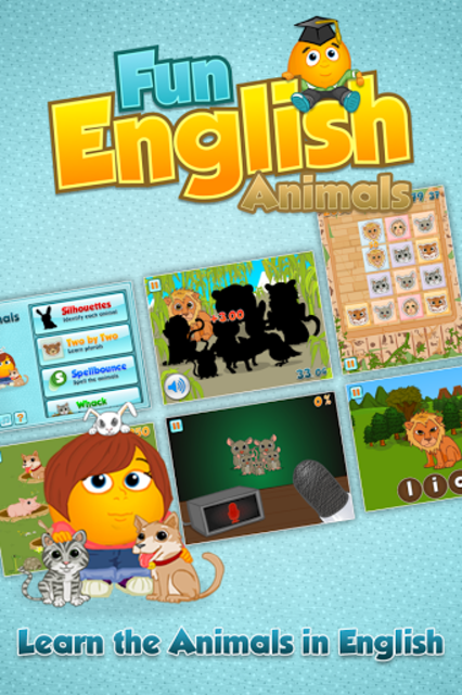Fun English Animals screenshot 1