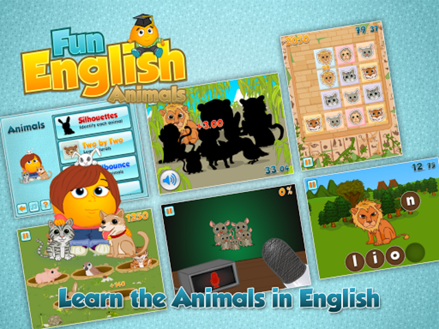 Fun English Animals screenshot 14