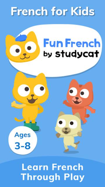 Fun French: Language Learning Games for Kids screenshot 1