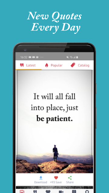 Motivational Quotes - Daily Quote & Status Message screenshot 3