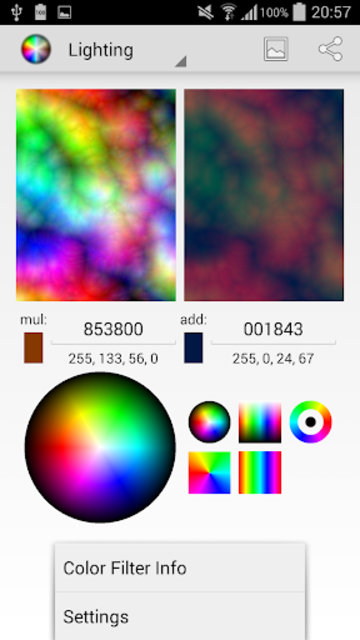 Color Filters in Android SDK screenshot 1